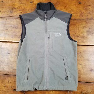 Mountain Hard Wear Gray/Gray Fleece Vest